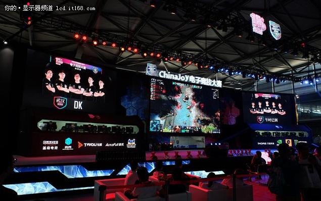 优派电竞显示器闪耀2017ChinaJoy