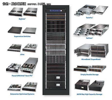 面向云服务供应商 超微推全新机架系统