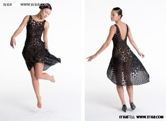各种3D打印连衣裙让你大饱眼福