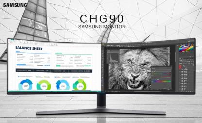 """三星CHG90开启显示器超""""长""""时代"""