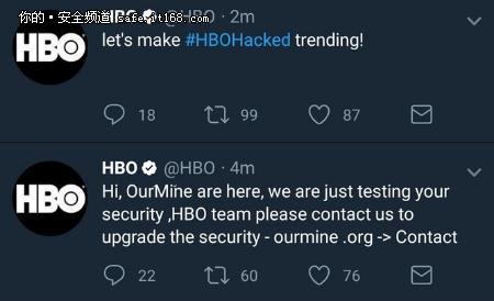瞎了!HBO和黑客交朋友,你是在逗我吗?