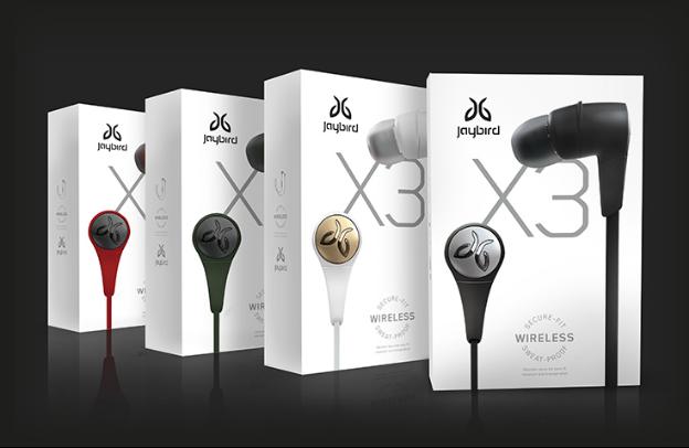 Jaybird X3无线蓝牙运动耳机上市
