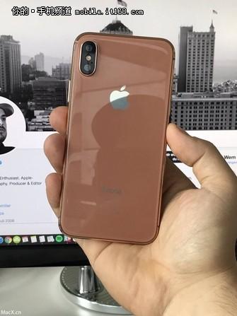 金铜色iPhone 8就是这样 你能接受么?