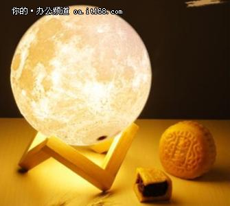 七夕礼物?3D打印的月亮够不够劲儿?