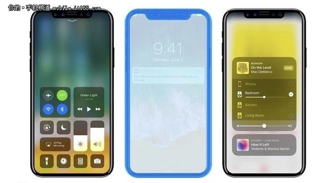 iPhone 8固件包含人脸识别功能