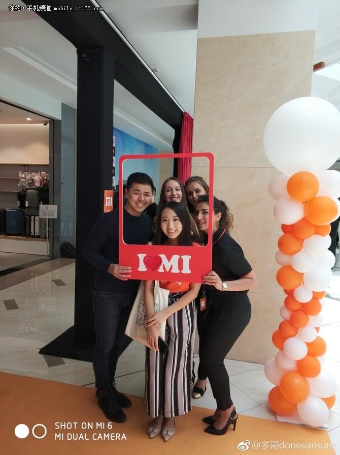 小米在迪拜第一家授权店正式开业