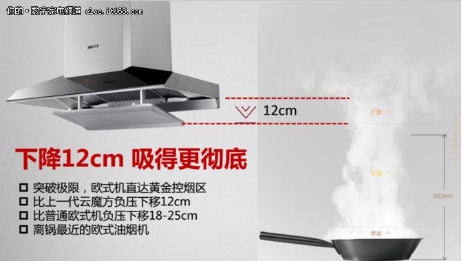 智能升降 方太云魔方新品油烟机评测