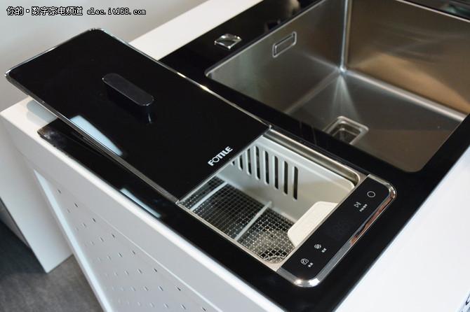 方太三合一水槽洗碗机评测