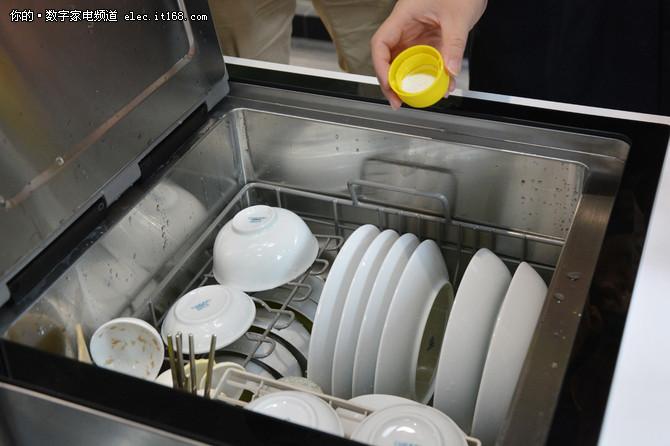 方太水三合一水槽洗碗机清洁实测
