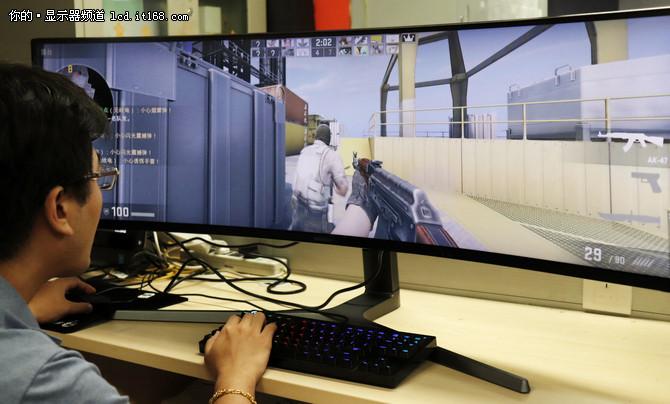 三星CHG90显示器游戏与功能体验
