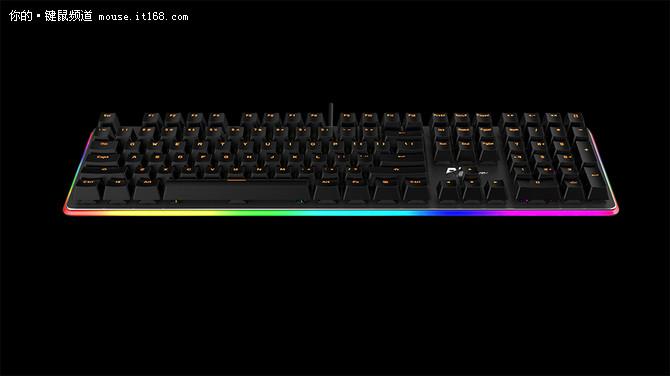 玩出艺术 RK阿尔法机械键盘亮相