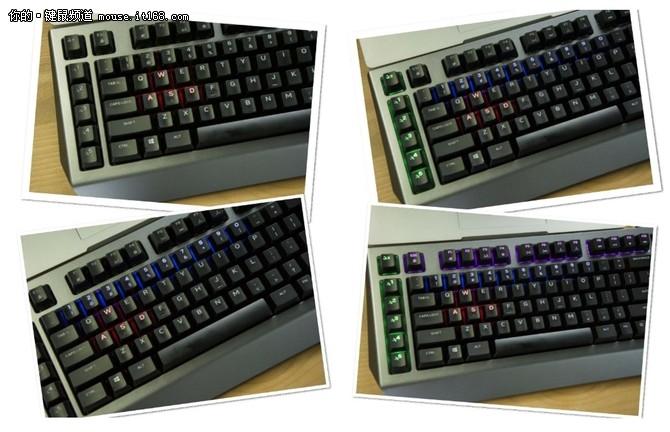 体验充满洪荒之力的外星人AW768键盘