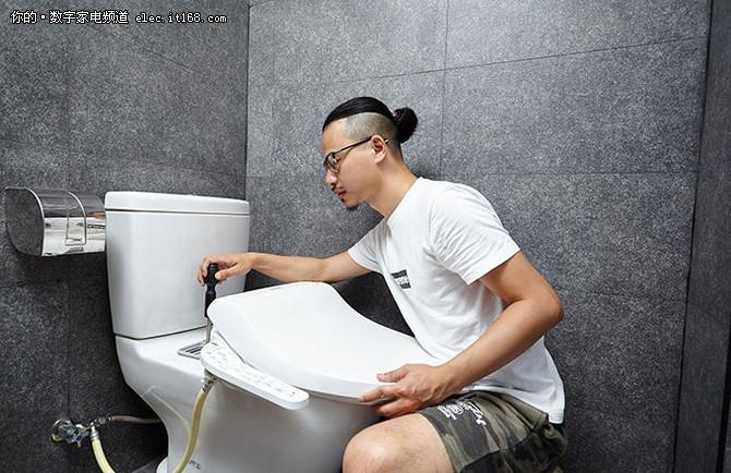 年轻人的第一次洗PP—智能马桶盖推荐