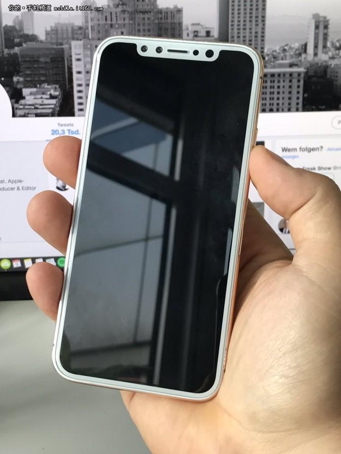 苹果官网透露iPhone8腮红金版