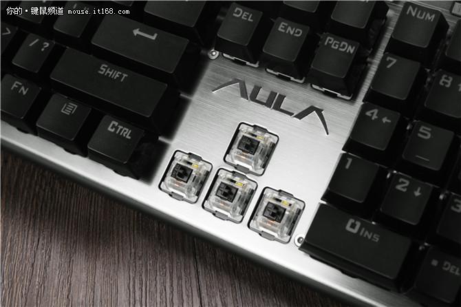 狼蛛守望者RGB机械键盘