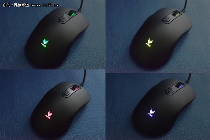 舒适手感 雷柏V22游戏鼠标评测