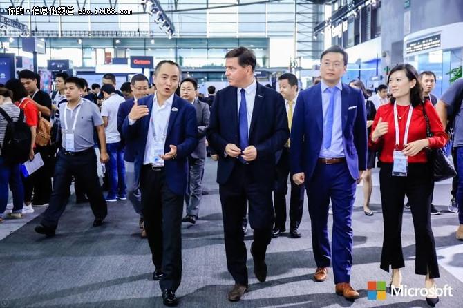 微软宣布与华为达成云服务战略合作关系