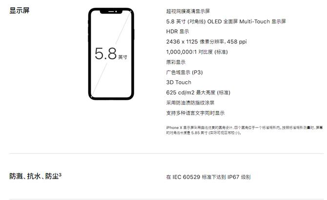 全面屏的iPhone X防水效果到底咋样?