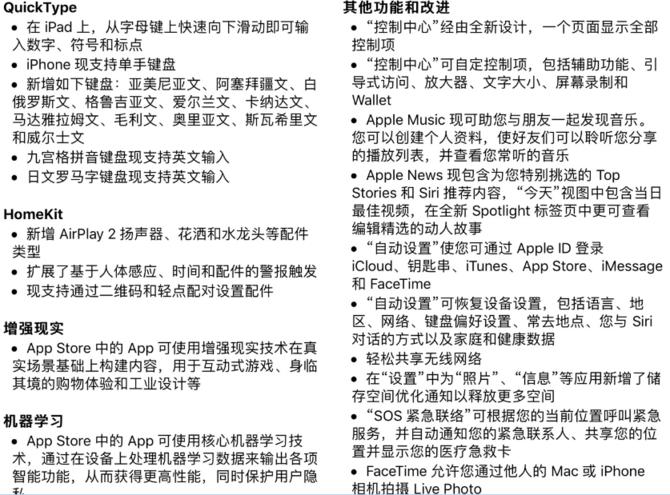 iOS11正式发布:本地化功能增强赶快升