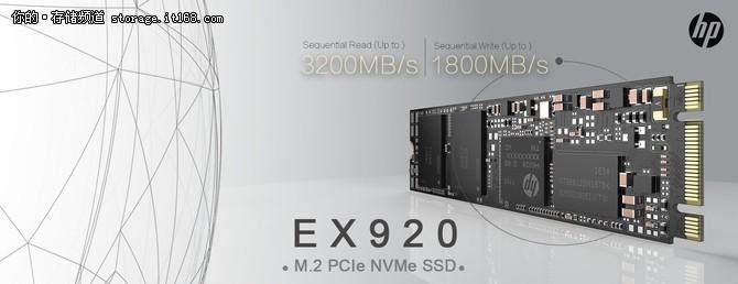 惠普10月将发布一款NVMe SSD 定位旗舰