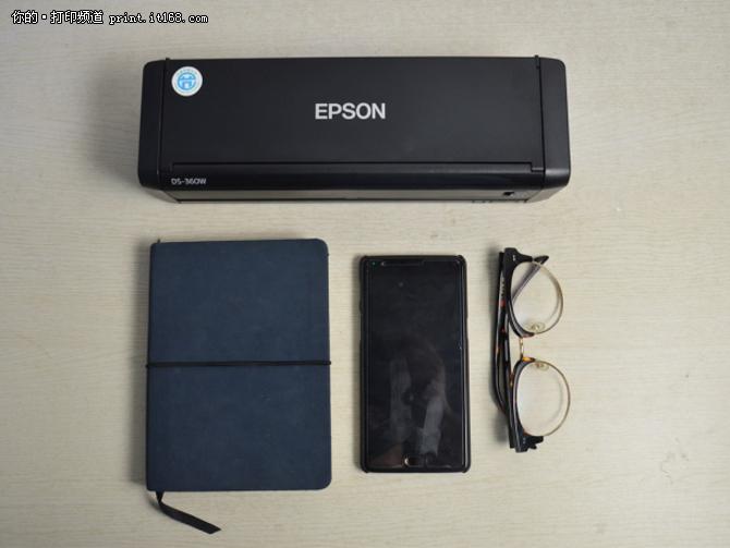 爱普生DS-360W 外观与配置介绍