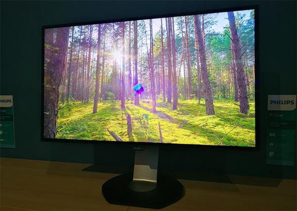 飞利浦首款8K显示器328P8K发布:16倍1080P