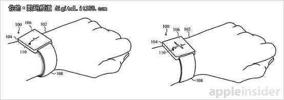 Apple Watch表带自动调节松紧