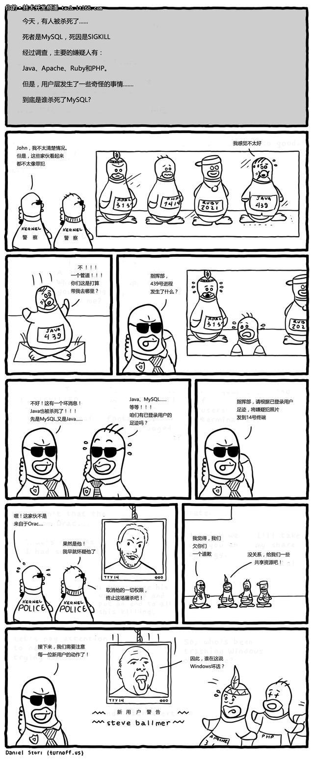 到底是谁杀死了MySQL?——漫画后记