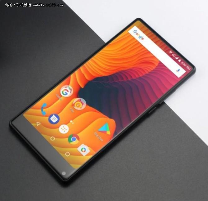 酷似小米MIX2 vernee推千元全面屏手机