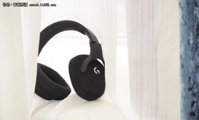 电竞耳机可以这么美,罗技G433温情体验