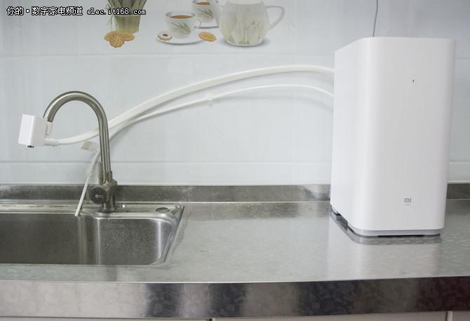 安简单用便捷 评小米净水器厨上增强版