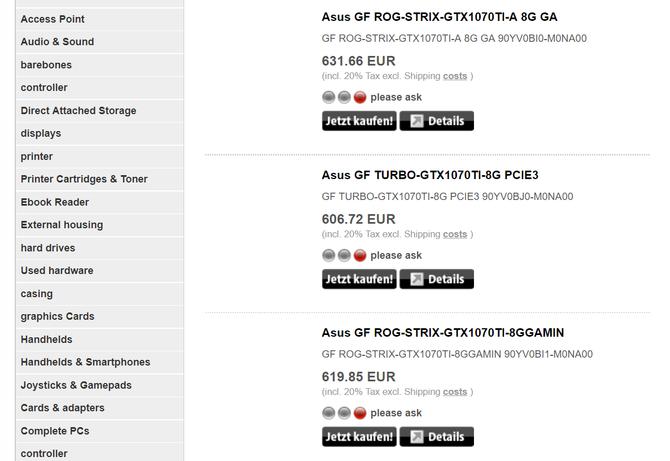预计26日发布 更多GTX 1070 Ti实卡曝光