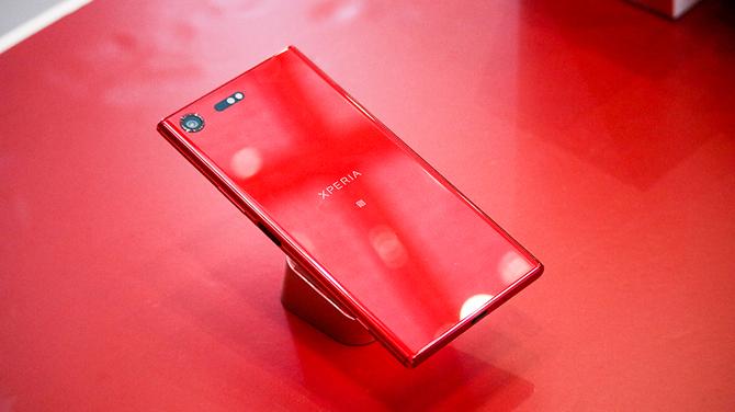 索尼xz1/xzp朱砂红发布 售价3999元还有惊喜