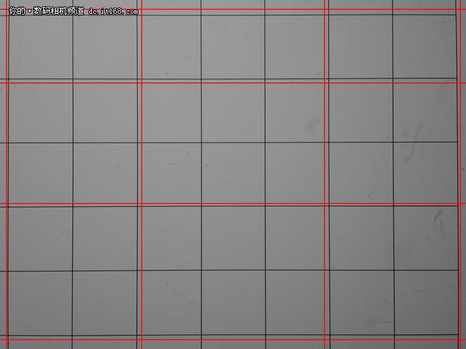 M43专业新广度 松下8-18mm光学畸变测试