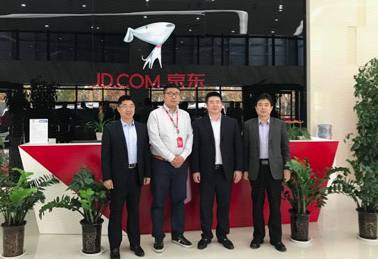 京东集团华东数据中心联通OTN正式开通