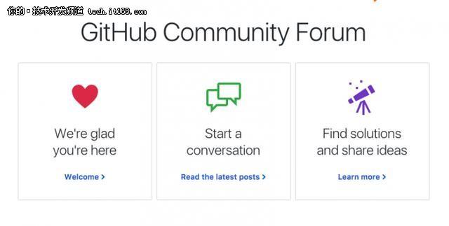 GitHub押宝社交托管平台,发布社区论坛