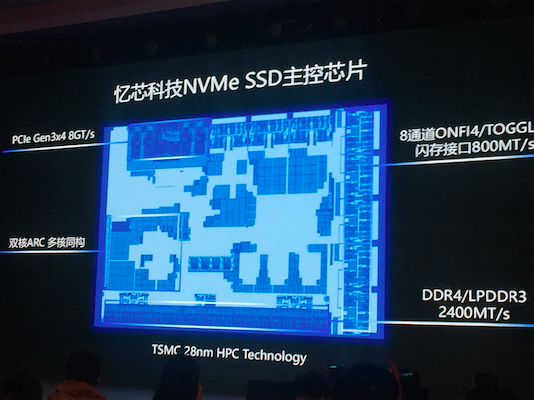 忆芯科技扛起国产NVMe SSD主控芯片的大梁