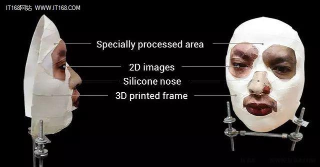 3D打印面具破解IPhoneX面部识别