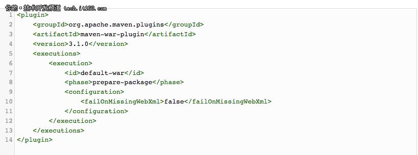 不用web.xm也能把Spring程序部署到Tomcat中
