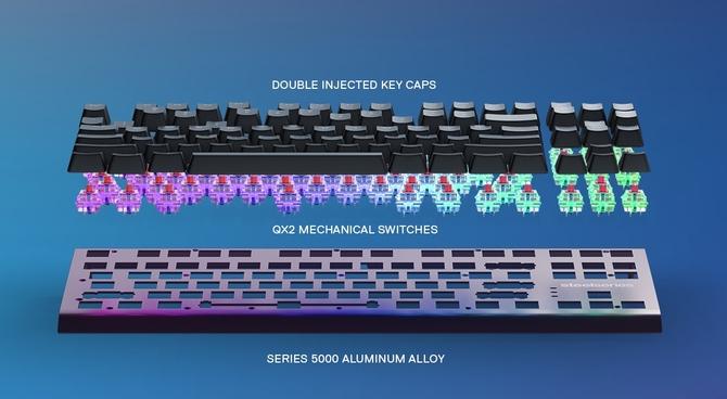 赛睿推出Apex M750TKL 87键机械键盘