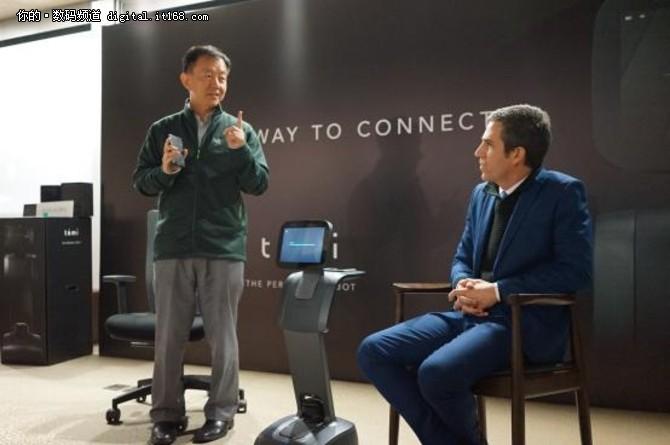 贴心家用机器人 专访Roboteam Home CEO