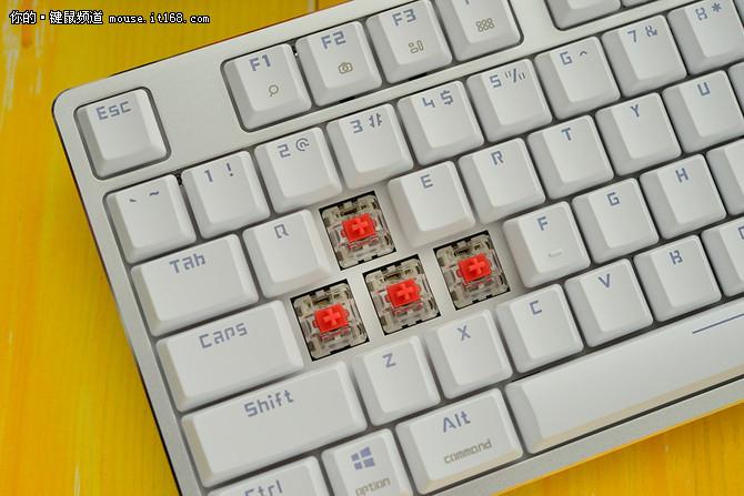 办公神器 雷柏MT500机械键盘热销中