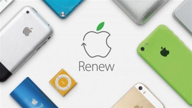 苹果宣布今后iPhoneMac都用可回收材料打造