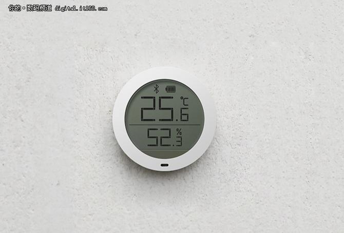 小米发布蓝牙温湿度计_可自动操控空调