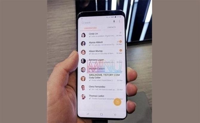 三星S9真机谍照曝光 将全球首发骁龙845