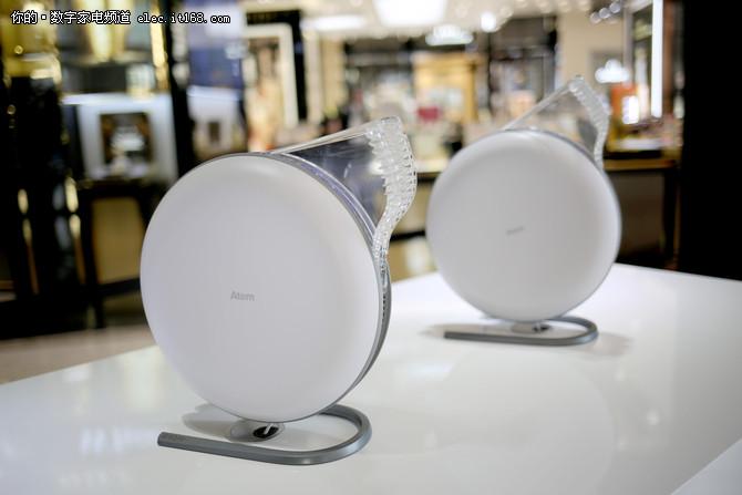 IQAir上海品鉴 推出个人空气净化器Atem