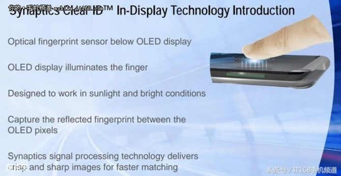 全面屏获最强助攻 屏下指纹将在明年量产
