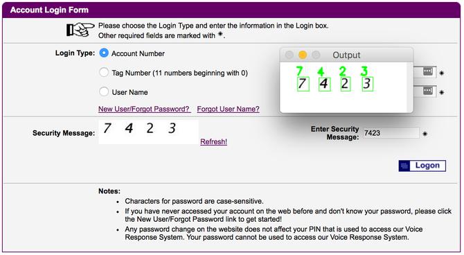 利用机器学习破解网站验证码 只需15分钟