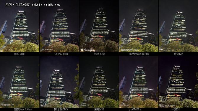 2017年中国拍照好手机横评:弱光夜拍篇