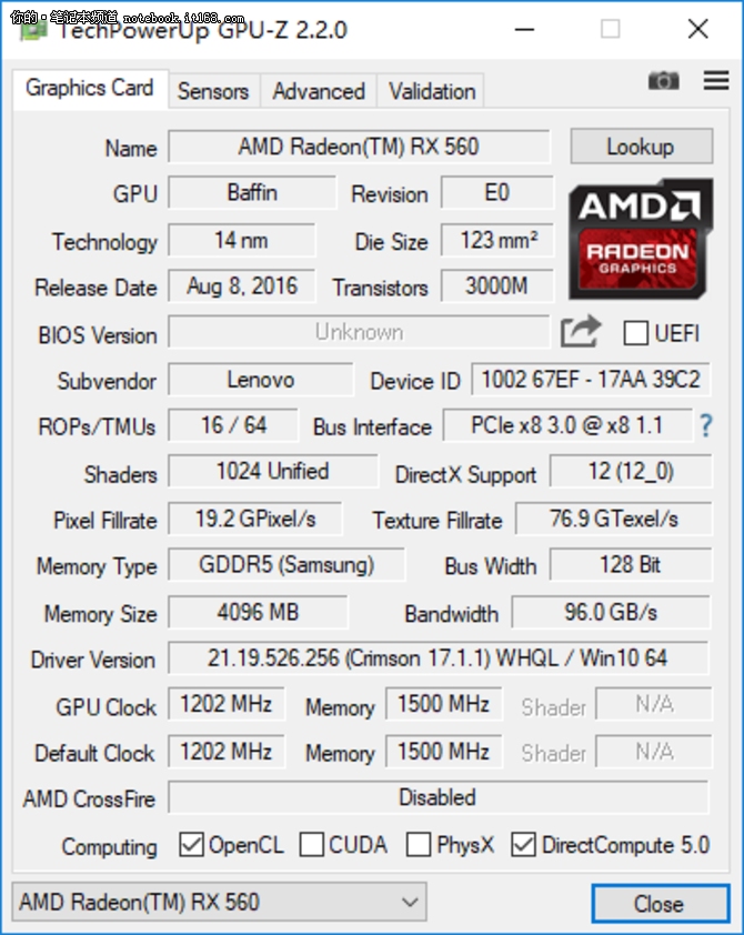 RX560的ENZ X36A游戏本也能40帧吃鸡!